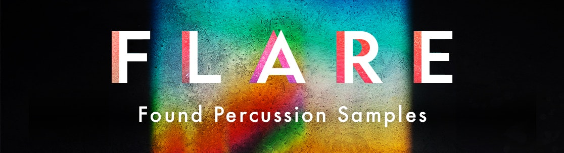 Flare Found Percussion Samples