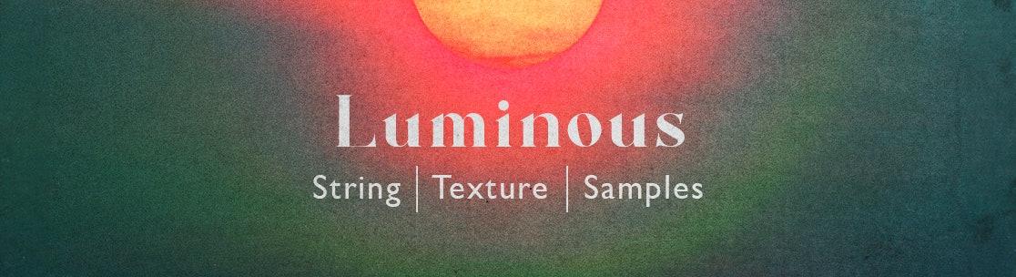 Luminous String Texture Samples